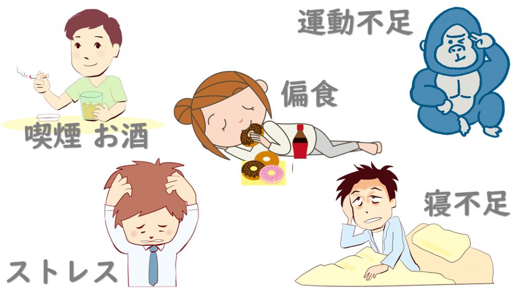 陰嚢湿疹と生活習慣