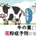 家畜のフンがアレルギーを予防