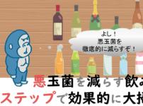 悪玉菌を減らす飲み物