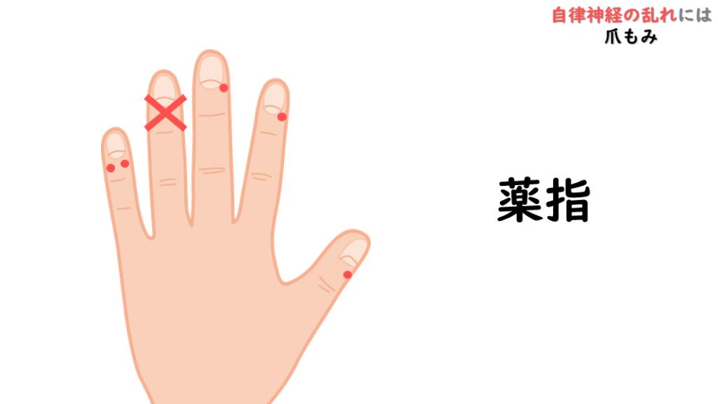 自律神経を整える爪もみ