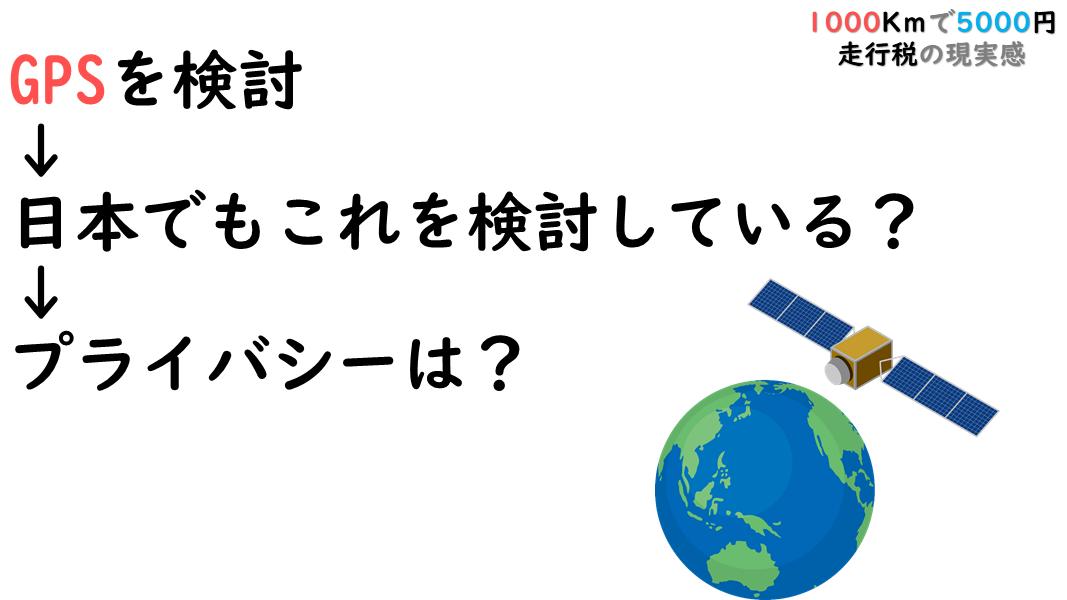 【走行税とは?】荒れる1000km/5000円をかんたん解説(2019年)